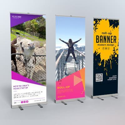 How to design an impactful pull up banner for your business